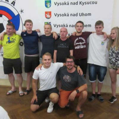 futbalovy turnaj obci s nazvom Vysoka  Obrázok 63