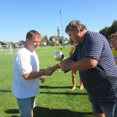 futbalovy turnaj obci s nazvom Vysoka  Obrázok 1