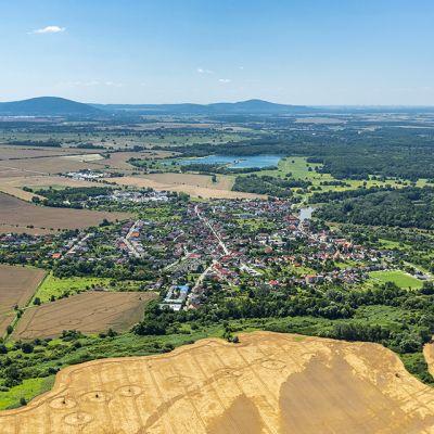 Letecké zábery obce Vysoká pri Morave  Obrázok 9