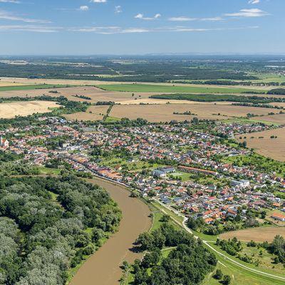 Letecké zábery obce Vysoká pri Morave  Obrázok 14