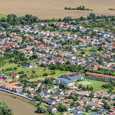 Letecké zábery obce Vysoká pri Morave  Obrázok 21