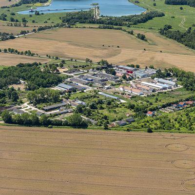 Letecké zábery obce Vysoká pri Morave  Obrázok 16
