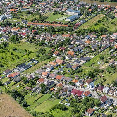 Letecké zábery obce Vysoká pri Morave  Obrázok 10