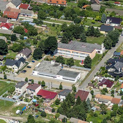 Letecké zábery obce Vysoká pri Morave  Obrázok 2