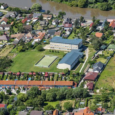 Letecké zábery obce Vysoká pri Morave  Obrázok 20