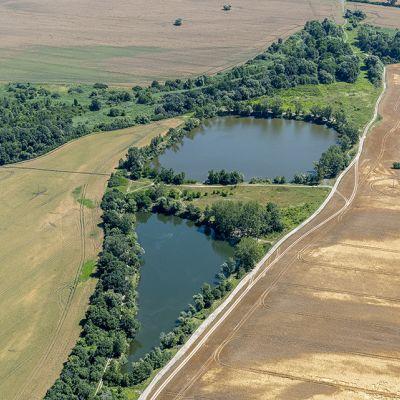 Letecké zábery obce Vysoká pri Morave  Obrázok 12