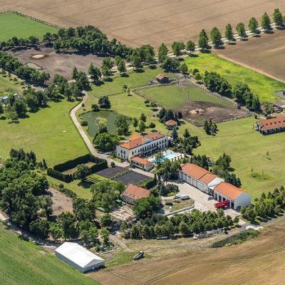 Letecké zábery obce Vysoká pri Morave  Obrázok 5