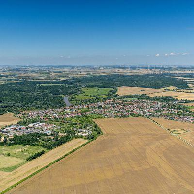 Letecké zábery obce Vysoká pri Morave  Obrázok 4