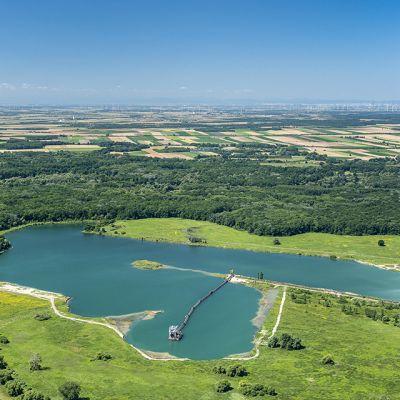 Letecké zábery obce Vysoká pri Morave  Obrázok 18