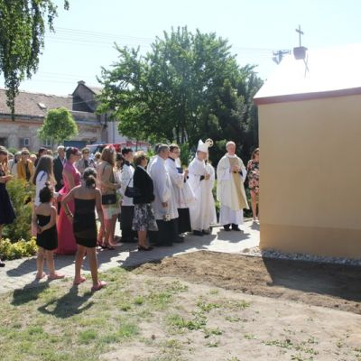 Vysvätenie kaplnky sv. Jána  Obrázok 1