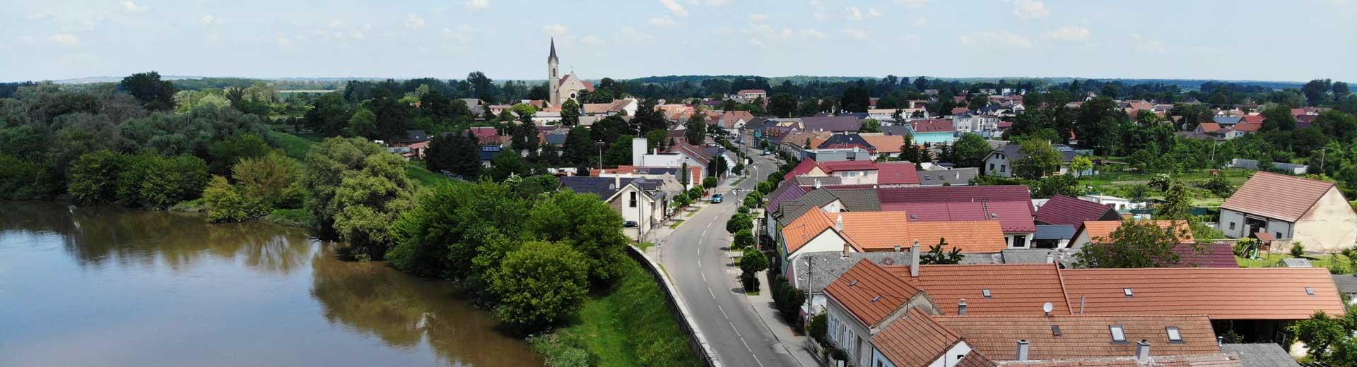 Brigády v obci Vysoká pri Morave