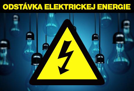 Prerušenie distribúcie elektrickej energie 26.8.2020