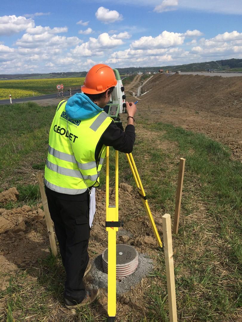 Oznámenie o vykonávaní geodetických činností na území obce Vysoká pri Morave