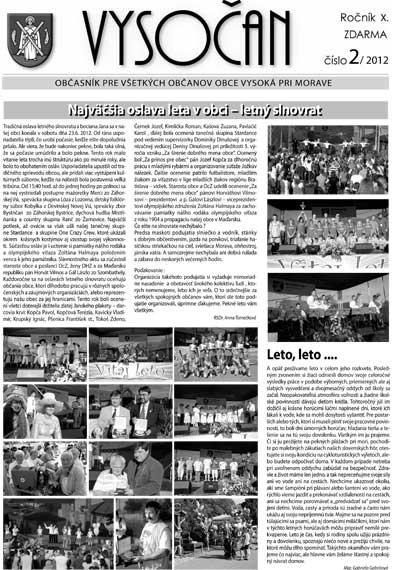 Vysočan 2/2012